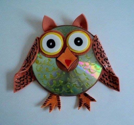 Best out of waste wonderful cd decoration ideas craft for Craft out of waste