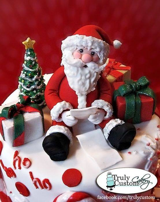 Cake Decorating Father Christmas : 10+ Santa Claus Christmas Cake Decoration Ideas - Craft ...
