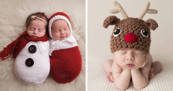 newborn-babies-christmas-photoshoot-knit-crochet-outfits-fb__700