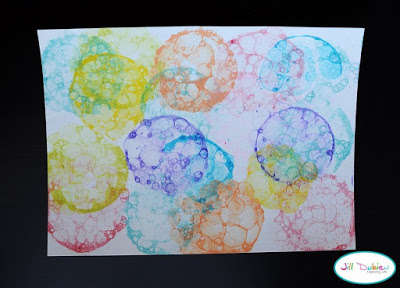 How to draw bubbles for scrap booking4