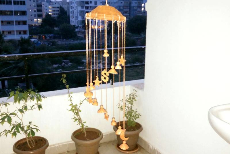 How to make terracotta wind chime craft community for Terracotta wind chimes