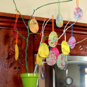 Simple Spring Crafts for Kids-1
