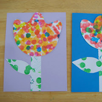 Simple Spring Crafts for Kids-25