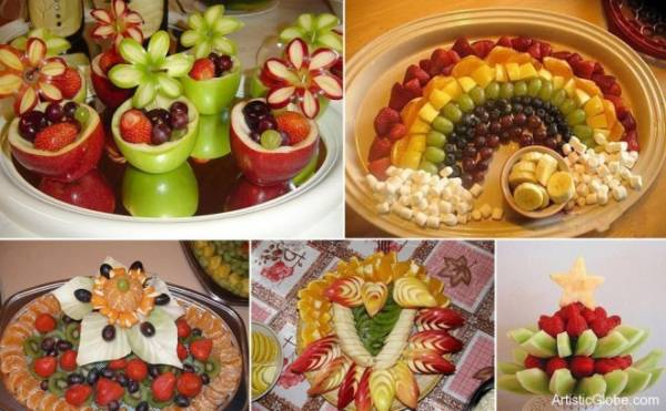 Beautiful fruit carving art ideas for your inspiration