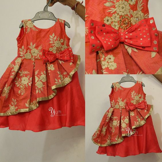Different Types of Frock Designs for Baby Girls - Craft ...