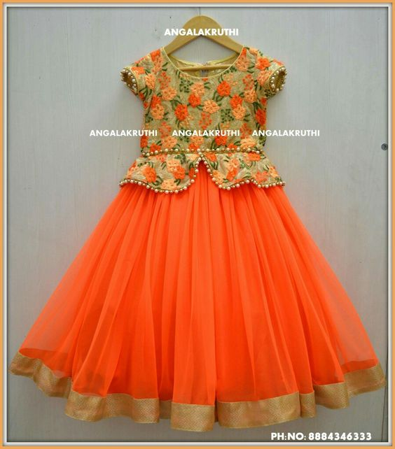Different Types Of Frock Designs For Baby Girls Craft