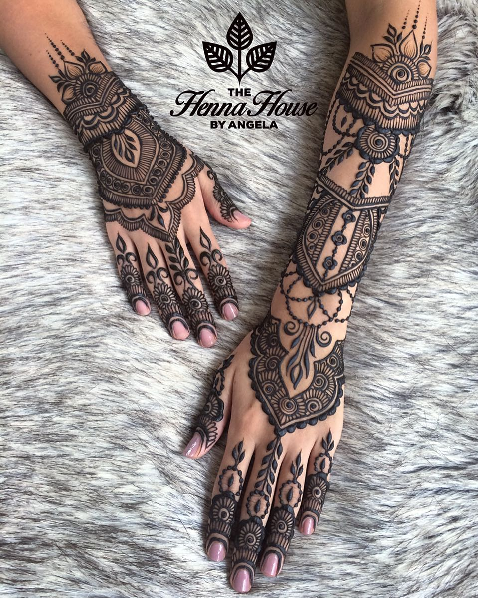 Indian Henna Tattoo Designs: Stylish Mehendi Designs For Hands To Inspire You