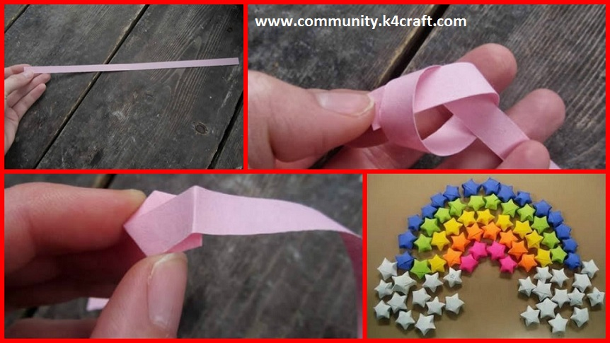 How To Make Origami Paper Stars Step By Step Craft Community