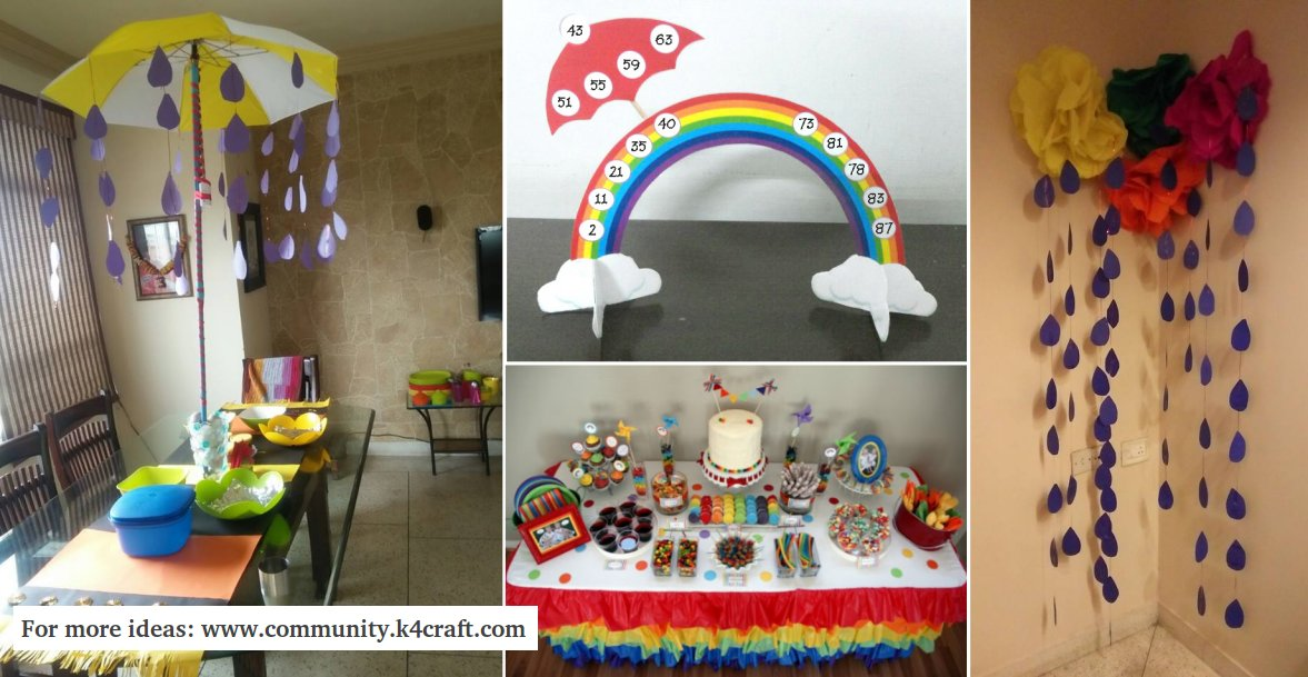 Kitty Party Theme Monsoon Ideas Craft Community