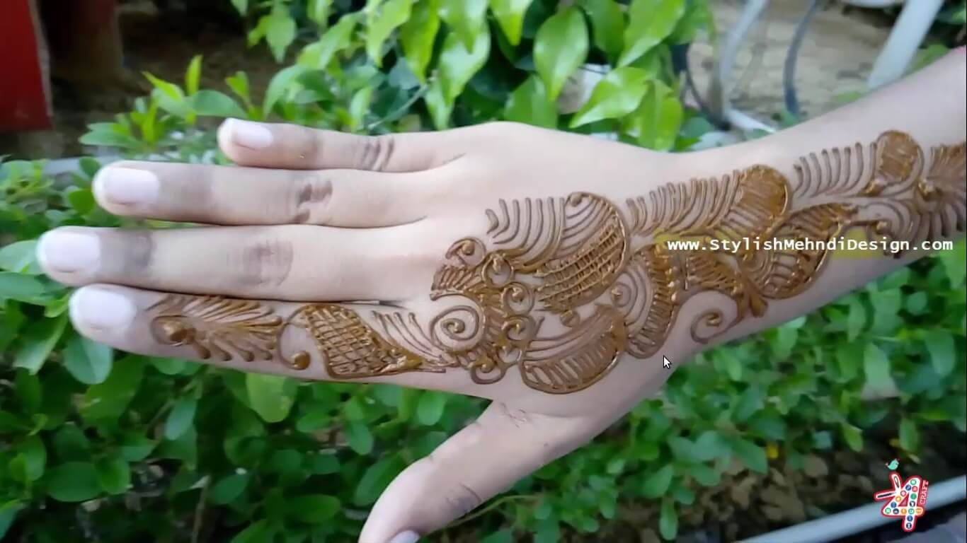 Arabic Mehndi Design For Hand Raksha Bandhan 2017