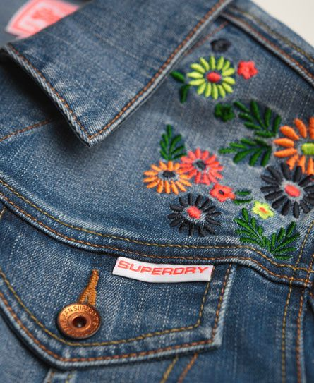 Hand Embroidery On Denim Ideas Craft Community