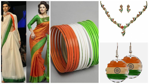 5dd1cf44b6 Dress up in Tri-Colours on 15th August Independence Day - Craft ...