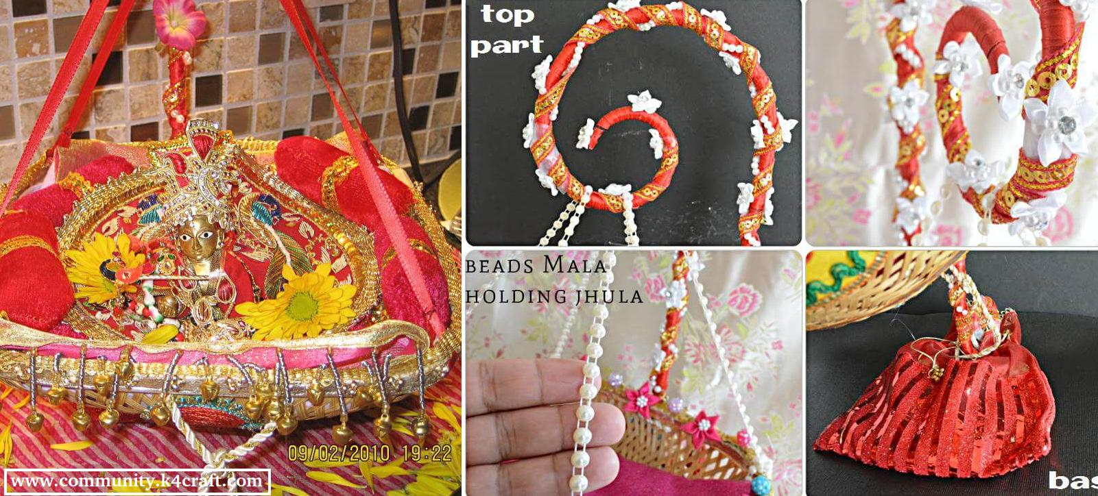 how to make janmashtami jhula at home craft community
