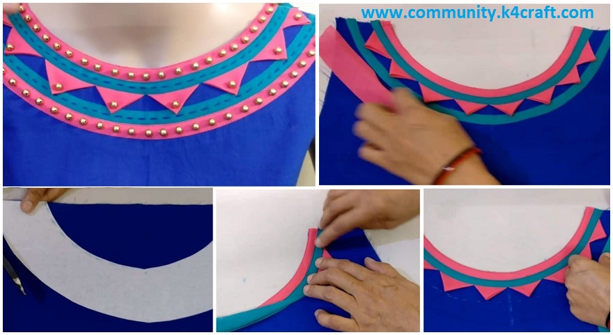 how to sew boat neck design  rajasthani look