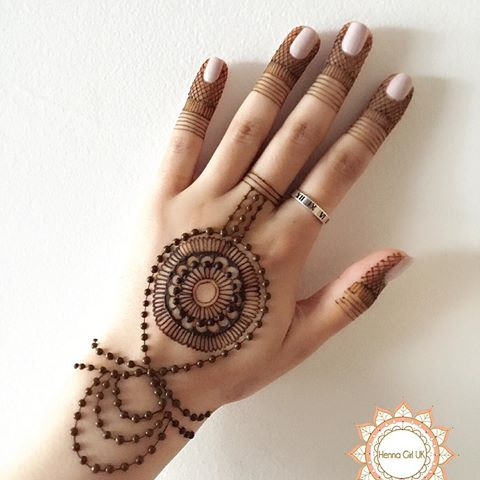 Easy And Simple Ring Mehndi Designs For Fingers Craft