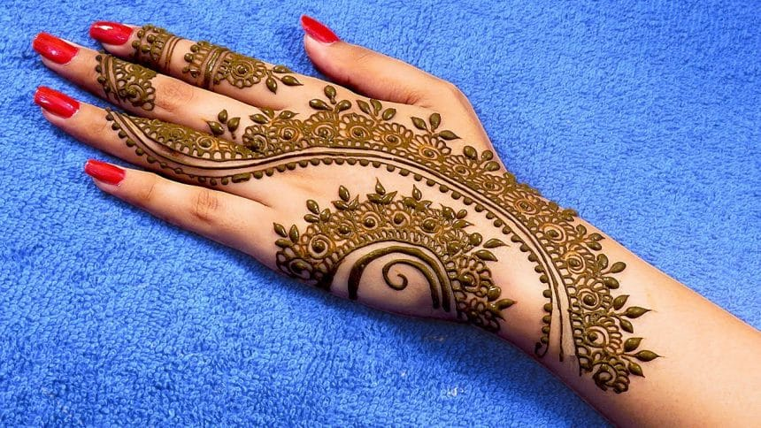 Easy Henna Mehndi Design For Back Hands Craft Community