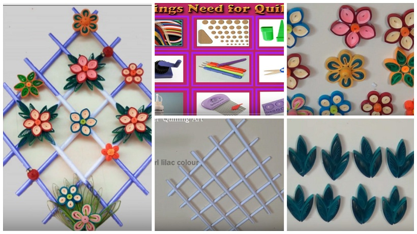 How To Make Paper Quilling Wall Hangers For Room Decoration Craft Community