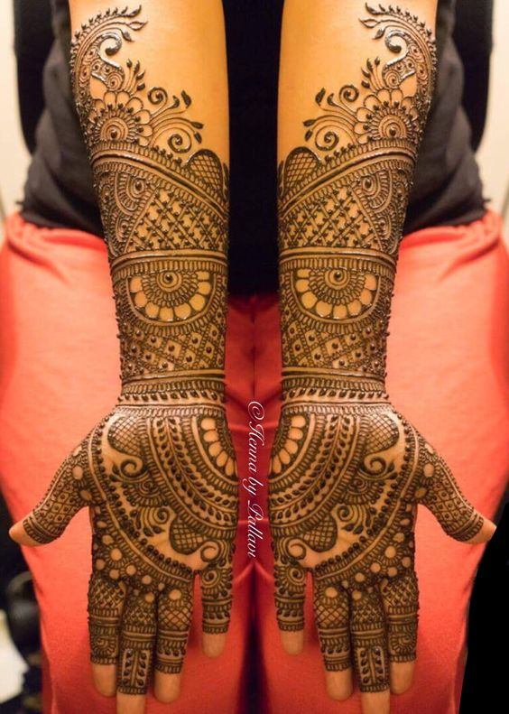 51+ Most Beautiful Bridal Mehndi Designs | Download Free