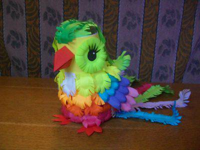 How To Make A Colorful Paper Parrot Craft Community