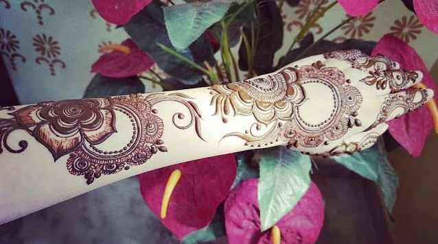 Mehndi Design For Backside Of Hand Step By Step Tutorial